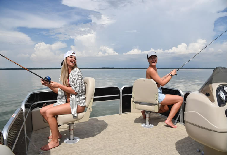 Laughing at pontoon quotes on pontoon boat